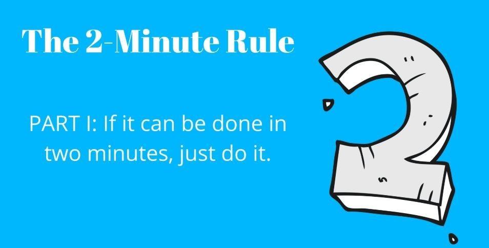 2 min rule