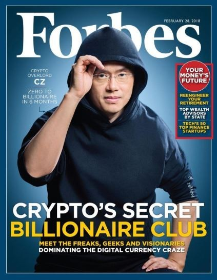 Binance CEO Forbes