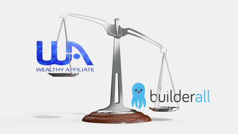 Wealthy Affiliate VS Builderall Review