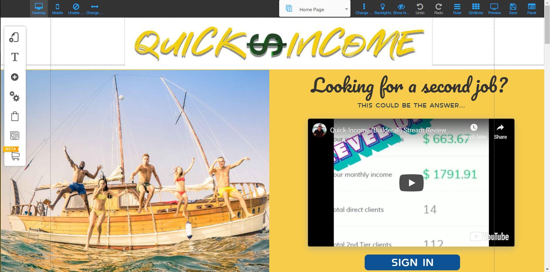 Quick income