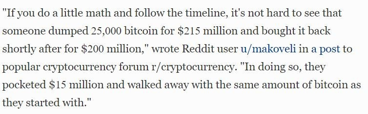 Bitcoin Whale makes $15 million