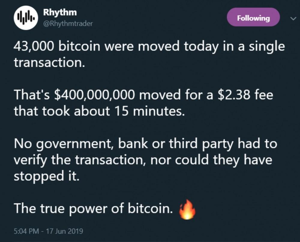 Power of Bitcoin