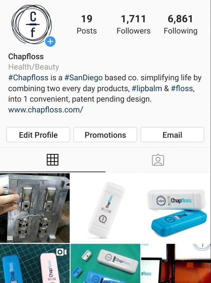 Chapfloss Instagram