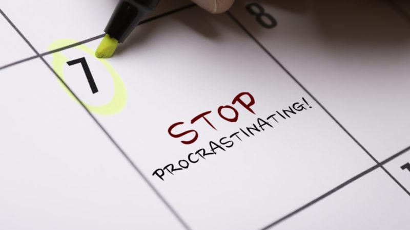 How Do I Stop Procrastinating?